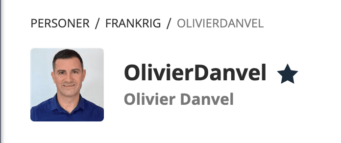 Olivier Danvel på eToro.